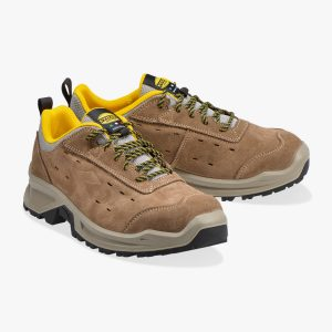 scarpa antinfortunistica uomo country low su azzurro